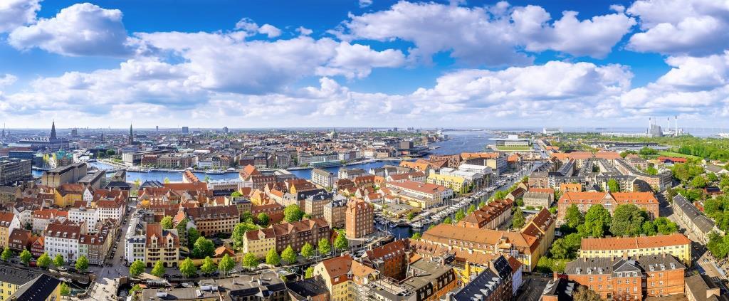 Panorama over København