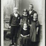 5 af familiens Sørensens børn.