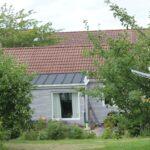 Hus set fra fællesareal
